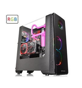 View 28 RGB Riing Edition Gull-Wing Window ATX Mid-Tower Chassis
